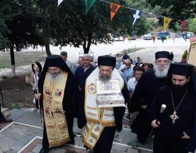 Τα Βούναινα υποδέχτηκαν λείψανο του Αγίου Νικολάου του εν Βουναίνη