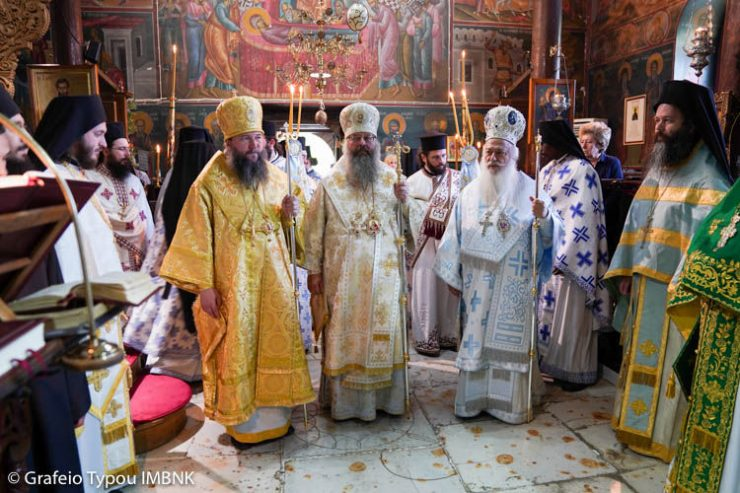 Λαμπρός εορτασμός στην Ιερά Μονή Τιμίου Προδρόμου Σκήτης Βεροίας