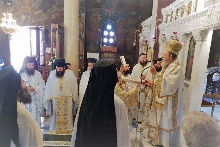 Μνήμη Αγίου Μεθοδίου στην Ι.Μ. Χαλκίδος