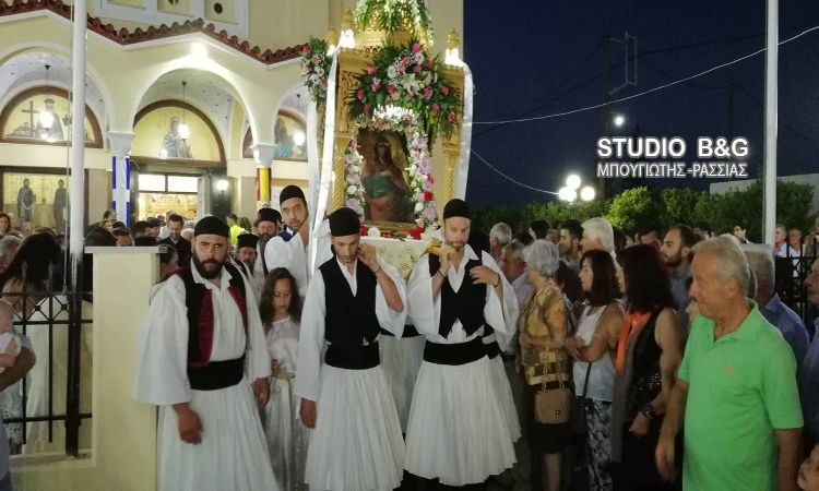 Η Εορτή της Αγίας Κυριακής στην Ι.Μ. Αργολίδος