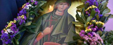 Πανηγυρικός Εσπερινός Αγίας Παρασκευής στην Ι.Μ. Αργολίδος