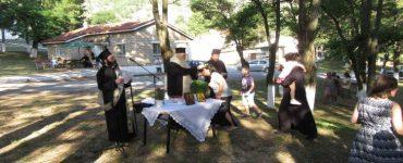 Αγιασμός των κατασκηνώσεων της Ι.Μ. Καστοριάς