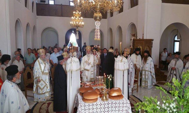Λαμπρός εορτασμός Αγίου Ανδρέου Κρήτης στην Ι.Μ. Αρκαλοχωρίου