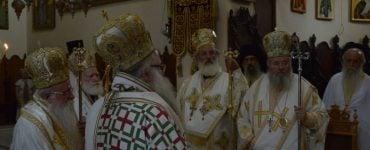 Συλλείτουργο στην Ιερά Μονή Αγίας Τριάδος των Τζαγκαρόλων