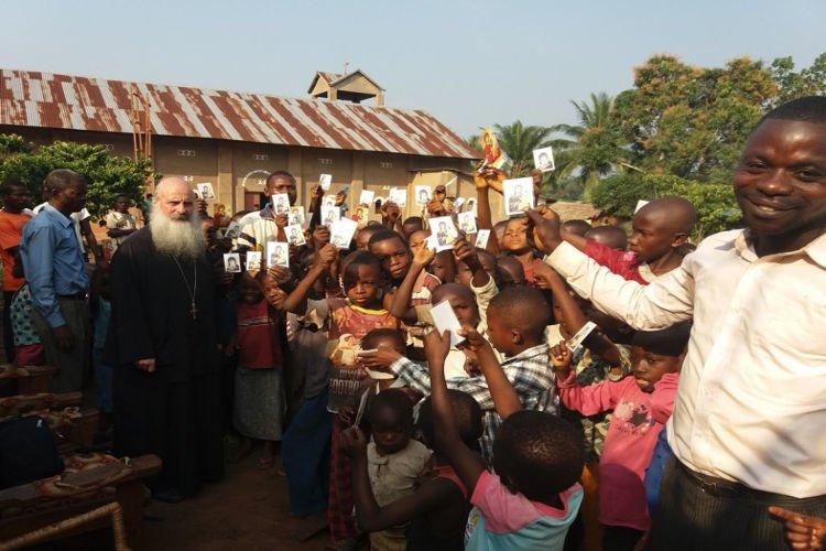 Ένας Ναός ανακαινίζεται στην Ι.Μ. Κινσάσας
