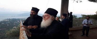 Ο Γέροντας Εφραίμ της Μονής Βατοπαιδίου στις Κατασκηνώσεις της Ι.Μ. Λευκάδος
