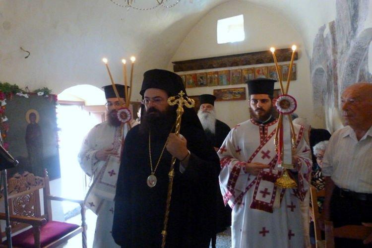 Εορτή της Κοιμήσεως της Αγίας Άννης στην Ι.Μ. Πέτρας