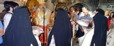 Εγκατάσταση αδελφότητας στην Ιερά Μονή στον Πάρνωνα