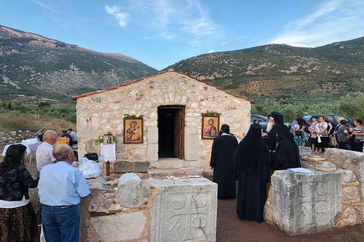 Η Εορτή Αγίας Ειρήνης Χρυσοβαλάντου στην Ι.Μ. Θηβών