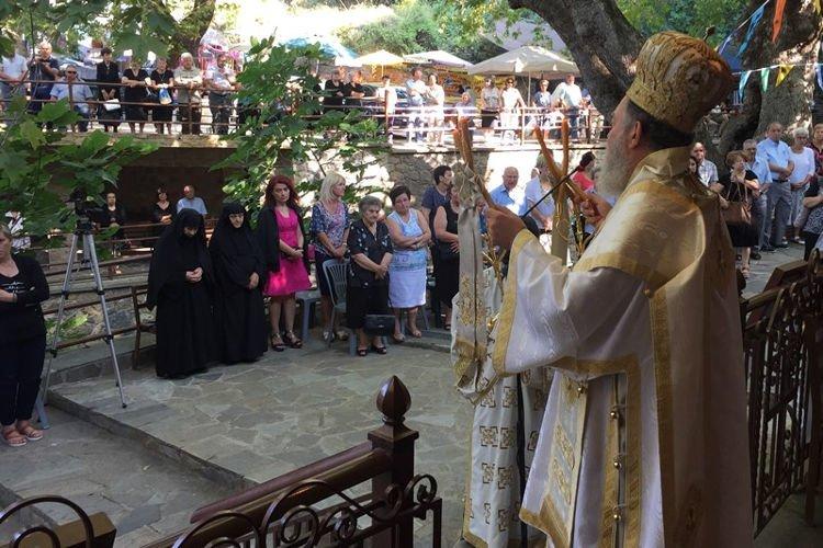 Εορτή της Αγίας Κυριακής στην Ι.Μ. Χαλκίδος