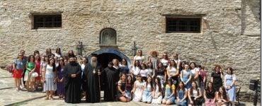 Νέες από την Ι.Μ. Κίτρους στην Ιερά Μονή Κλεισούρας Καστοριάς