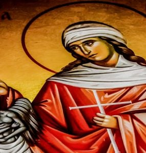 Η Προσευχή Αγίας Μαρίνας πριν τον αποκεφαλισμό της