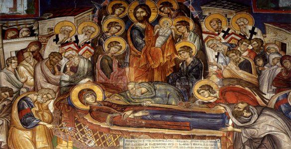Αγρυπνία αποδόσεως της εορτής Κοιμήσεως Θεοτόκου στα Τρίκαλα
