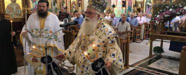 Λαμπρός εορτασμός της Παναγίας στην Ι.Μ. Δημητριάδος