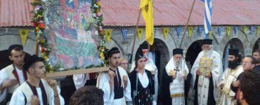 Λαμπρός εορτασμός στη Μεγάλη Παναγιά της Σαμαρίνας