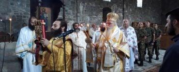 Θεία Λειτουργία στον ακριτικό Γράμμο Καστοριάς
