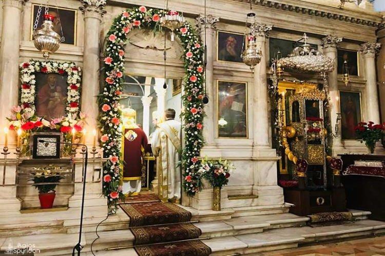 Πολυαρχιερατικό Συλλείτουργο στο Ιερό Προσκύνημα του Αγίου Σπυρίδωνος