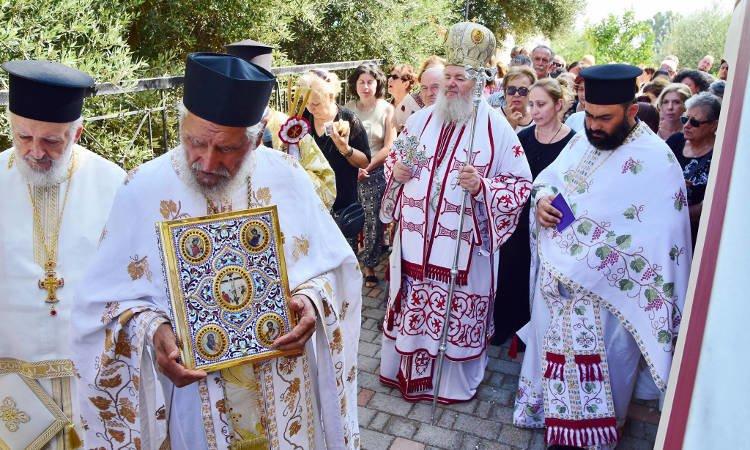 Λαμπρός εορτασμός Αγίου Φανουρίου στην Ι.Μ. Κυδωνίας