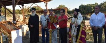 Παράκληση Παναγίας στον Αρχαιολογικό χώρο της Μαρωνείας