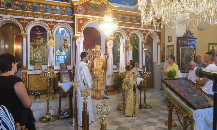 Αρχιερατική Θεία Λειτουργία στην Σέριφο