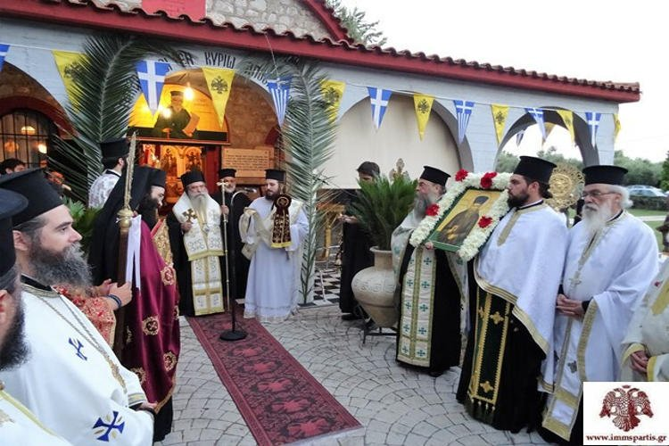 Η Εορτή Αγίου Κοσμά του Αιτωλού στην Ι.Μ. Σπάρτης