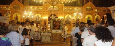 Υποδοχή Λειψάνου Αγίου Διονυσίου του εν Ολύμπω στην Κατερίνη
