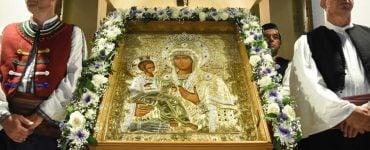 Λιτανεία Παναγίας Τριχερούσας στην Κατερίνη