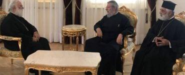 Συνάντηση Πατριάρχη Αλεξάνδρειας με Αρχιεπίσκοπο Κύπρου