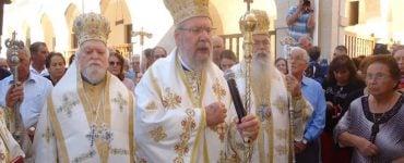 Αρχιεπισκοπικό Συλλείτουργο στην Κύπρο