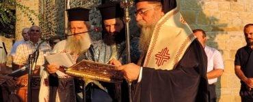 Θυρανοίξια Παρεκκλησίου Αγίων Θεοπατόρων στη Μονή Θεοτοκιού Άρτης