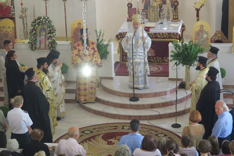 Φθιώτιδος Νικόλαος: Η Αγία Σοφία είναι ένα πρότυπο μάνας