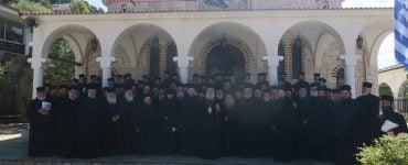 Πρώτη Ιερατική Σύναξη στην Ι.Μ. Φθιώτιδος