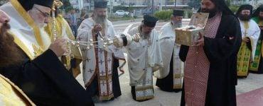 Υποδοχή Τιμίας Κάρας Αγίου Νικάνορος στην Καστοριά (ΦΩΤΟ)