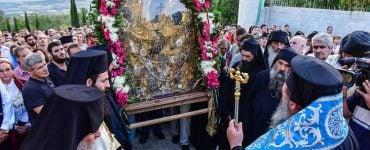 Υποδοχή Παναγίας Γοργοϋπηκόου από την Ι.Μ. Δοχειαρίου (ΦΩΤΟ)