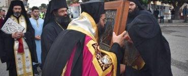 Υποδοχή Εικόνας Παναγίας Γουμερά στην Ι.Μ. Μαρωνείας