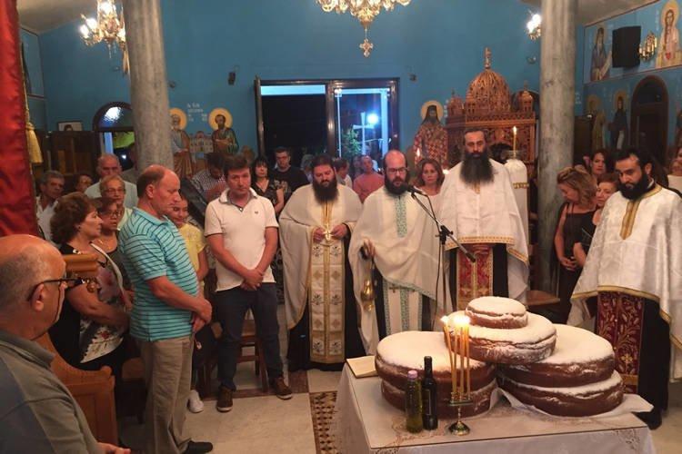 Προεόρτια Αγρυπνία Αγίας Σοφίας στη Χαλκίδα