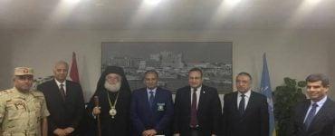 Επίσκεψη Πατριάρχη Αλεξανδρείας στον νέο Κυβερνήτη Αλεξανδρείας