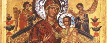 Υποδοχή Εικόνας Παναγίας Παντανάσσης στην Ι.Μ. Κορώνης