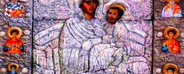 Υποδοχή Εικόνας Παναγίας Στυλαρινής στην Αμμουλιανή