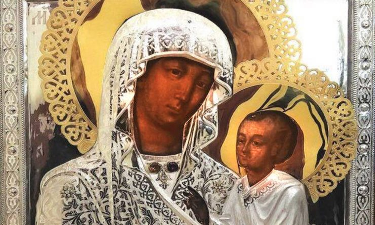 Η Παναγία του Όρους των Ελαιών στη Θεσσαλονίκη
