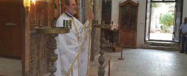 Θεία Λειτουργία στην κατεχόμενη Μονή του Αποστόλου Βαρνάβα