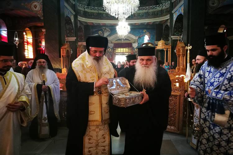 Υποδοχή Λειψάνου Αγίου Λουκά στην Αλεξανδρούπολη