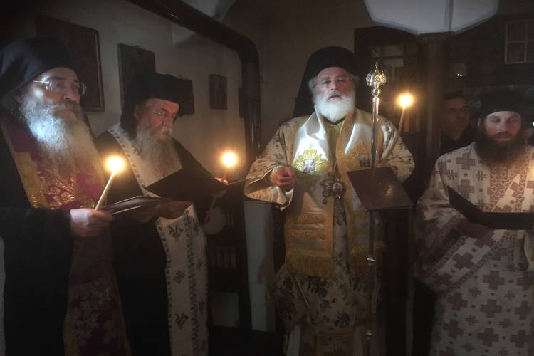 40ήμερο Μνημόσυνο Γέροντος Ονησίμου στο Άγιο Όρος