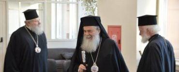 Ο Πατριάρχης Ιεροσολύμων στην Κρήτη
