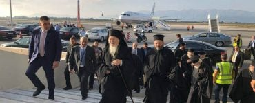 Αναχώρησε από την Κρήτη ο Οικουμενικός Πατριάρχης