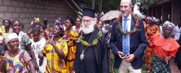 Ο Μητροπολίτης Ξάνθης στο Μικαλάι της Αφρικής