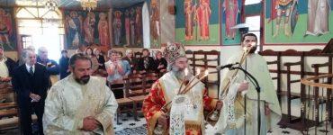 Κυριακάτικη Θεία Λειτουργία στη Λαγκάδα Μεσσηνίας