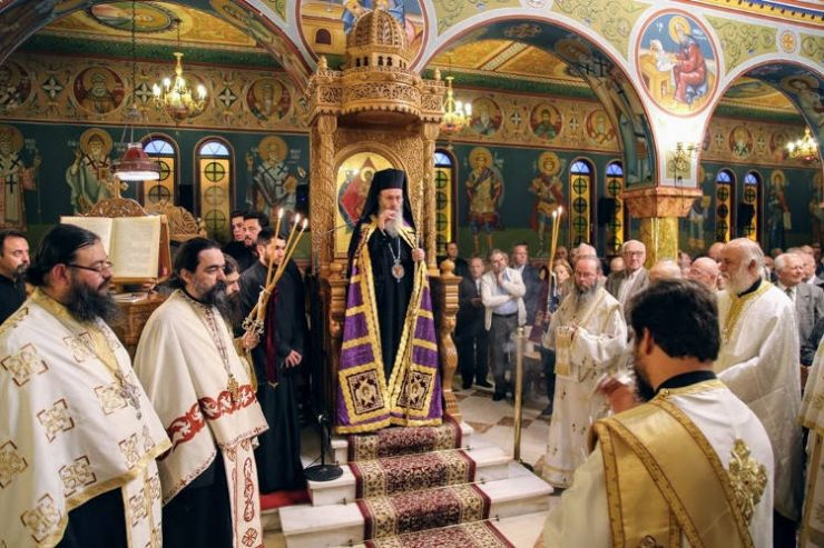 Η Ναύπακτος εορτάζει τον Πολιούχο της Άγιο Δημήτριο