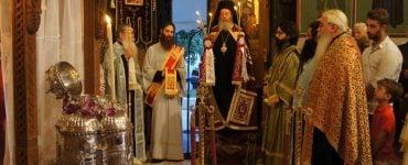 Επανακομιδή Τιμίας Κάρας Αγίας Ειρήνης στην Ι.Μ. Πατρών