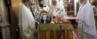 Αρχαιοπρεπής Θεία Λειτουργία στην Ι.Μ. Θηβών